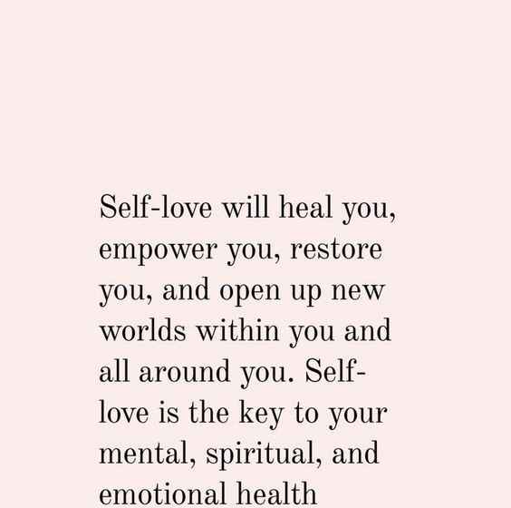 love l'amour self love